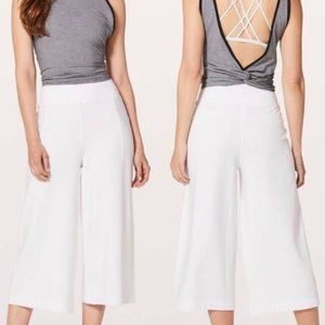 NWOT Lululemon Blissed Out Culottes High Rise